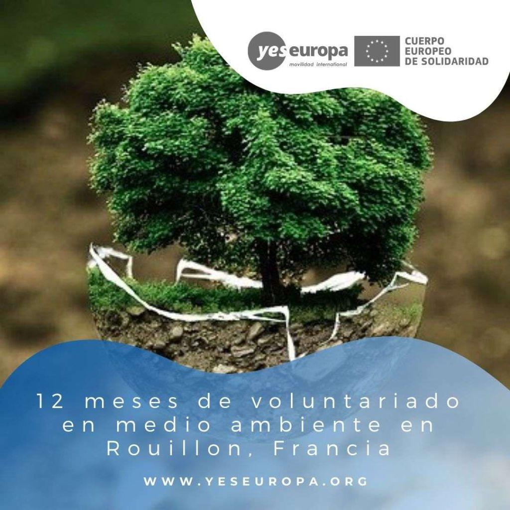Redes voluntariado Rouillon, Francia